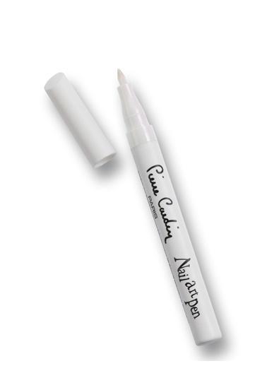 Pierre Cardin Nail Art  Pen Tırnak Kalemi - White Beyaz